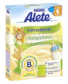 Produktabbildung: Nestlé Alete Getreidebrei Honigschleim 250 g
