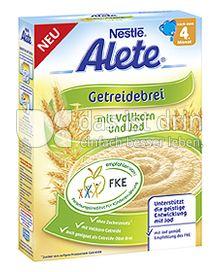 Produktabbildung: Nestlé Alete Getreidebrei mit Vollkorn und Jod 250 g