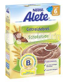 Produktabbildung: Nestlé Alete Getreidebrei Schokolade 250 g