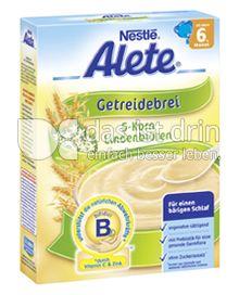 Produktabbildung: Nestlé Alete Getreidebrei 5-Korn Lindenblüten 250 g