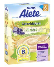 Produktabbildung: Nestlé Alete Getreidebrei Pflaume 250 g