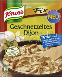 Produktabbildung: Knorr Fix Geschnetzeltes Dijon 46 g