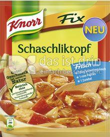Produktabbildung: Knorr Fix Schaschliktopf 51 g