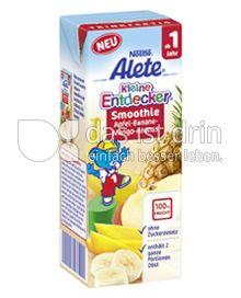 Produktabbildung: Nestlé Alete Kleine Entdecker Smoothie Apfel-Banane-Mango-Ananas 200 ml