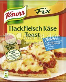 Produktabbildung: Knorr Fix Hackfleisch Käse Toast 54 g