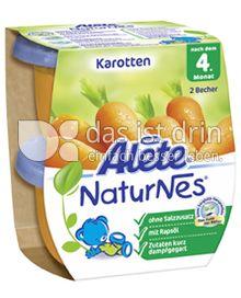 Produktabbildung: Nestlé Alete NaturNes Karotten 260 g