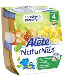 Produktabbildung: Nestlé Alete NaturNes Karotten & Kartoffeln 260 g