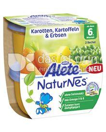 Produktabbildung: Nestlé Alete NaturNes Karotten, Kartoffeln & Erbsen 400 g