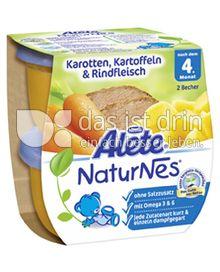 Produktabbildung: Nestlé Alete NaturNes Karotten, Kartoffeln & Rindfleisch 400 g