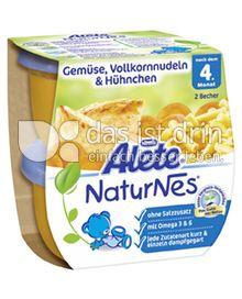 Produktabbildung: Nestlé Alete NaturNes Gemüse, Vollkornnudeln & Hühnchen 400 g