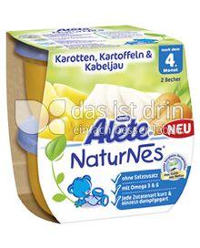 Produktabbildung: Nestlé Alete NaturNes Karotten, Kartoffeln & Kabeljau 400 g