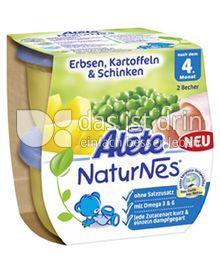 Produktabbildung: Nestlé Alete NaturNes Erbsen, Kartoffeln & Schinken 400 g