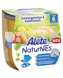 Produktabbildung: Nestlé Alete NaturNes Gartengemüse & Kalbfleisch 400 g