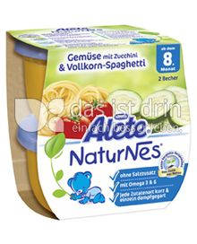 Produktabbildung: Nestlé Alete NaturNes Gemüse mit Zucchini & Vollkorn-Spaghetti 400 g