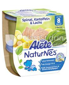 Produktabbildung: Nestlé Alete NaturNes Spinat, Kartoffeln & Lachs 400 g