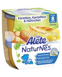 Produktabbildung: Nestlé Alete NaturNes Karotten, Kartoffeln & Hühnchen 400 g