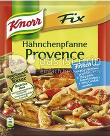 Produktabbildung: Knorr Fix Hähnchenpfanne Provence 31 g