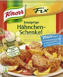 Produktabbildung: Knorr Fix knusprige Hähnchenschenkel 26 g