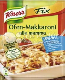 Produktabbildung: Knorr Fix Ofen-Makkaroni alla mamma 52 g