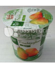 Produktabbildung: Aldi bio Fruchtjoghurt Birne 150 g