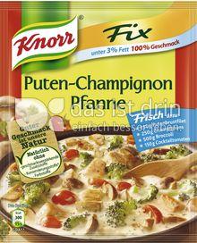 Produktabbildung: Knorr Fix & leicht Puten-Champignon Pfanne 69 g
