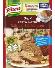 Produktabbildung: Knorr Fix Zart & Saftig Saftiger Hackbraten 50 g
