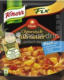 Produktabbildung: Knorr Fix Chinesisch süß-sauer 52 g