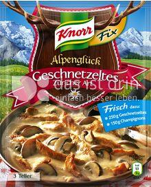 Produktabbildung: Knorr Alpenglück Fix Geschnetzeltes Züricher Art