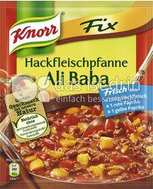 Produktabbildung: Knorr Fix Hackfleischpfanne Ali Baba 37 g