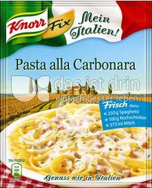 Produktabbildung: Knorr Mein Italien! Fix Pasta alla Carbonara 38 g