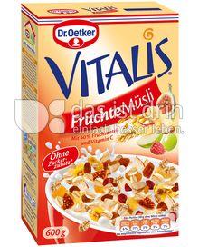 Produktabbildung: Dr. Oetker Vitalis Früchte Müsli 600 g
