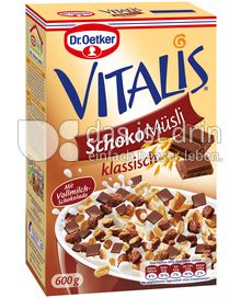 Produktabbildung: Dr. Oetker Vitalis Schoko Müsli klassisch 600 g