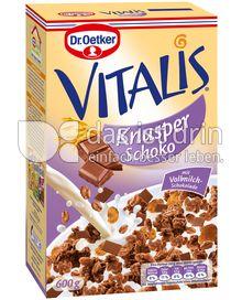 Produktabbildung: Dr. Oetker Vitalis Knusper Schoko 600 g