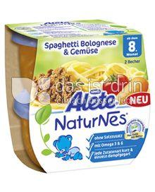 Produktabbildung: Nestlé Alete NaturNes Spaghetti Bolognese & Gemüse 400 g
