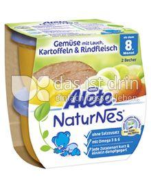 Produktabbildung: Nestlé Alete NaturNes Gemüse mit Lauch, Kartoffeln & Rindfleisch 400 g