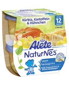 Produktabbildung: Nestlé Alete NaturNes Kürbis, Kartoffeln & Hühnchen 400 g