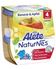 Produktabbildung: Nestlé Alete NaturNes Banane & Apfel 260 g