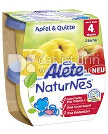 Produktabbildung: Nestlé Alete NaturNes Apfel & Quitte 260 g