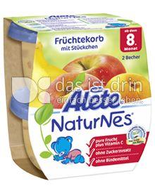 Produktabbildung: Nestlé Alete NaturNes Früchtekorb mit Stückchen 260 g