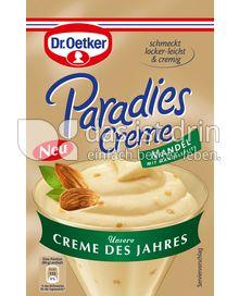 Produktabbildung: Dr. Oetker Paradies Creme des Jahres Mandel