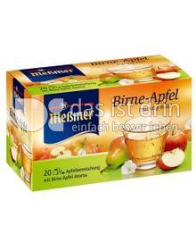 Produktabbildung: Meßmer Birne-Apfel 20 St.