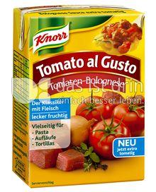 Produktabbildung: Knorr Tomato al Gusto Tomaten-Bolognese 370 g