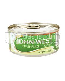 Produktabbildung: John West Thunfischstücke in Olivenöl 160 g