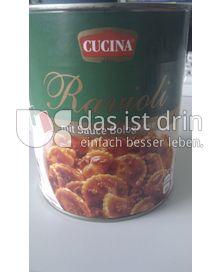Produktabbildung: CUCINA Ravioli mit Sauce Bolognese 800 g