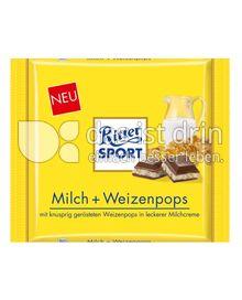 Produktabbildung: Ritter Sport Milch + Weizenpops 250 g