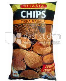 Produktabbildung: Vitasia Chips Tikka Masala 200 g