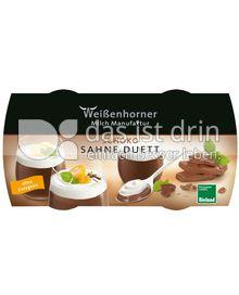 Produktabbildung: Weißenhorner Schoko Sahne Duett 230 g