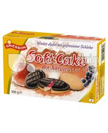 Produktabbildung: Griesson Soft Cake der Saison Winter-Apfel mit gefrosteter Schlehe 300 g