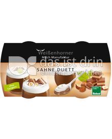 Produktabbildung: Weißenhorner Nuss-Nougat Sahne Duett 230 g