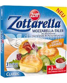 Produktabbildung: Zott Zottarella Mozzarella-Taler Classic 231 g
